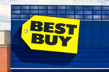 Best Buy Store and Trademark Logo