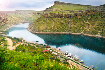 Turkey, Diyarbakir Egil District and Tigris River