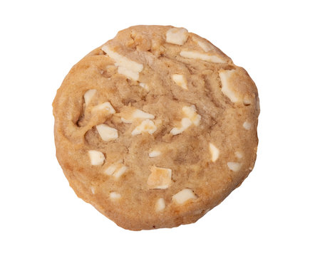 White chocolate chip cookie
