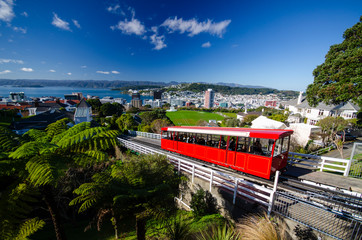 Canvas Prints New Zealand Cable car, Wellington, New Zealand