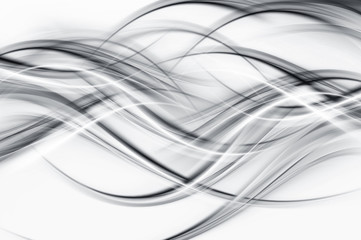Cool grey and white flowing background