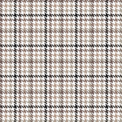 Houndstooth seamless pattern. Vector background