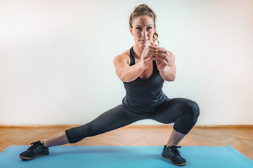 HIIT or High Intensity Interval Training Indoors