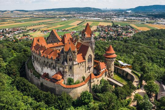 Kreuzenstein Castle in Austria