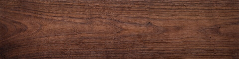 Poster Bois Walnut wood texture. Super long walnut planks texture background.Texture element