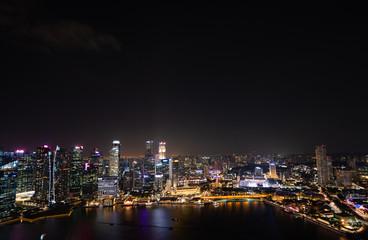 Singapore city views from Marina Bay Area Fototapete