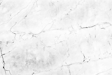 Wall Mural - White marble texture abstract background pattern with high resolution.