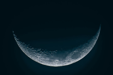 Detailed moon picture, Half Moon Background / The Moon is an astronomical body that orbits planet Earth, being Earth's only permanent natural satellite