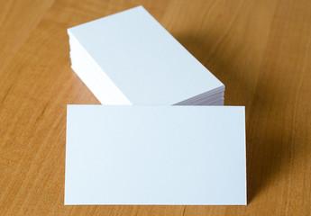 Fototapeta papier wizytówka bloczek stos firma reklama obraz