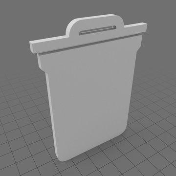 Trash symbol