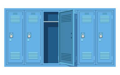 Fototapeta School locker vector design illustration isolated on white background obraz