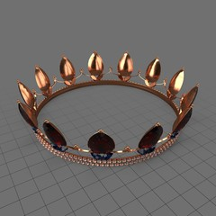 Queen crown with jewels 2