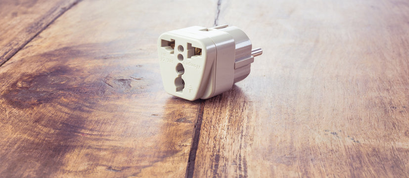 UK to EU socket adapter