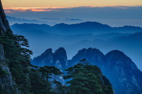 Asia, China, Chinese, Anhui Province, Mount Huangshan, UNESCO, Yellow Mountain