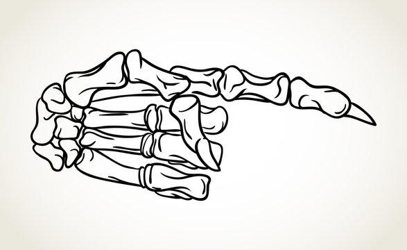 Hand drawn Halloween celebration design element