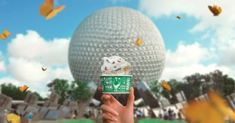 A Scoop of Ben & Jerry's Ice Cream at Disney's Epcot