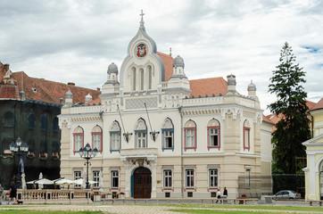 Timișoara Piața Unirii Serbisches Bischofsheim