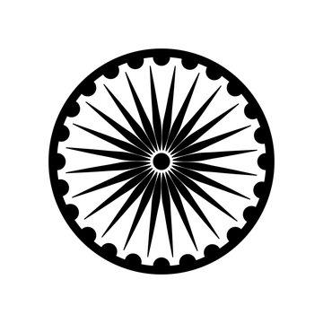 ashoka chakra emblematic icon indian