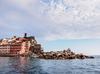 Vernazza, Cinque Terre, UNESCO World Heritage Site, Liguria, Italy