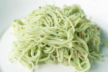 Jade noodles line .