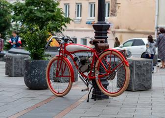 Fotobehang Fiets old bike