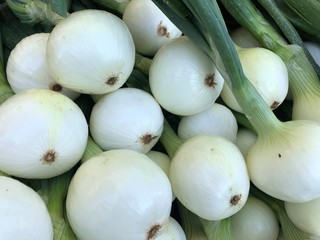 Sweet Onions at the Farmers Market