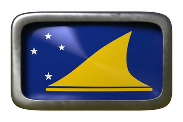 Tokelau flag sign