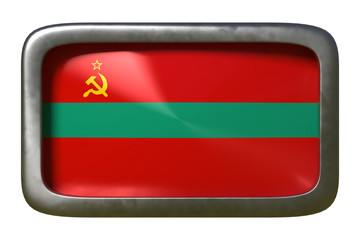 Transnistria flag sign