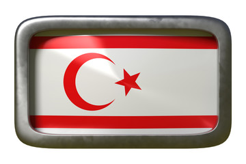 Turkish Republic of Northern Cyprus flag sign