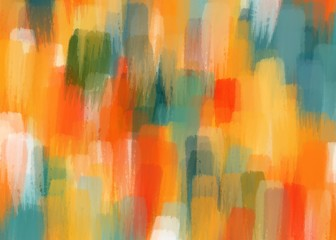 beautiful color matching with brush stroke pattern illustration digital background