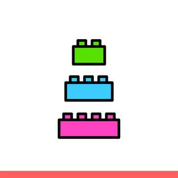 Lego cubic icon