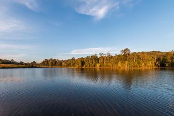 Sai Sorn reservoir in Khao Yai National Park,Thailand.