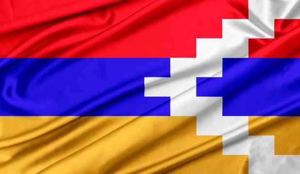 Flag of Nagorno Karabakh Republic