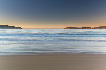 Sunrise Seascape and Clear Sky
