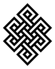Endless knot symbol