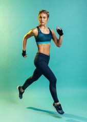 Female running training