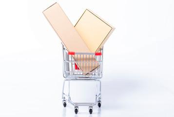 Filled shopping cart