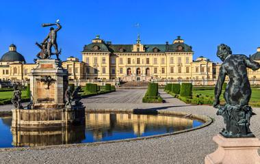 Türaufkleber Stockholm The Drottningholm Palace in Stockholm.