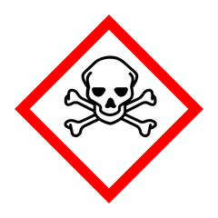 Pictogram for toxic substances