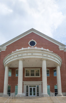 Caruth Hall on the Campus of Southern Methodist University