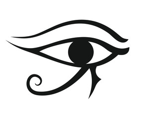 Egypt eye illustration
