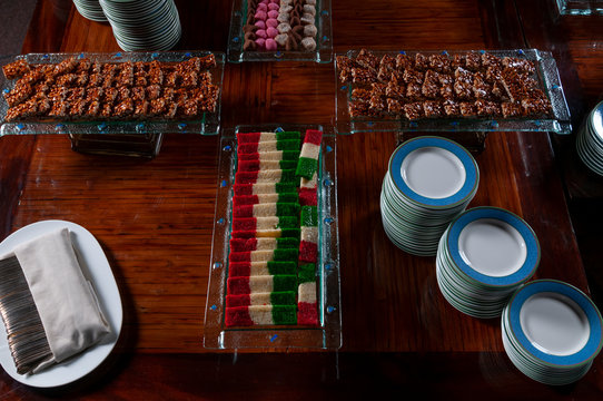 Mexican desserts set for banquet