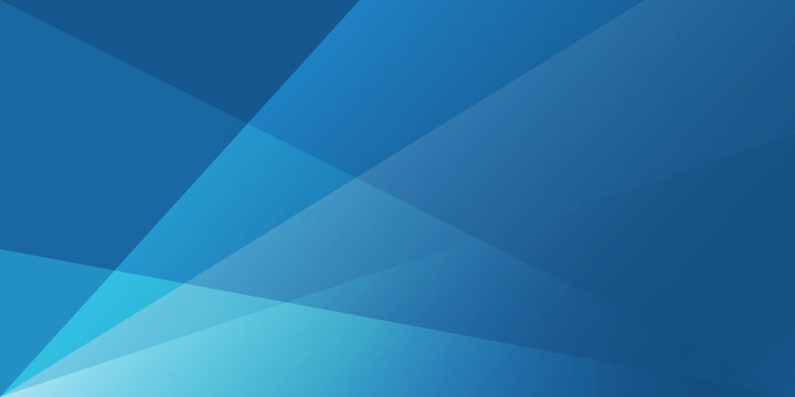 abstract blue  background with white transparent layers