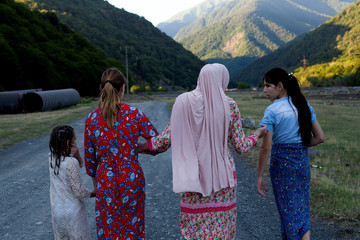 The Wider Image: In Georgian valley, war-scarred women battle tradition