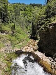 Chute d'eau, Rivière du Bonheur, France