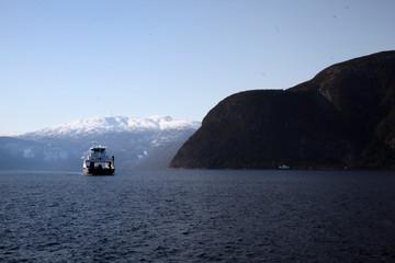 Ferry dans les Fjords Norvégiens