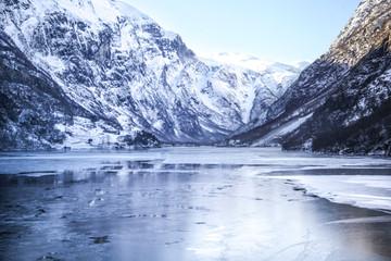 Fjords Norvégiens gelés