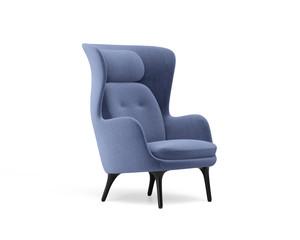 Fototapeta 3d rendering of an Isolated modern wingback armchair obraz
