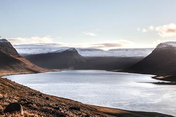 Lac Volcanique en Islande