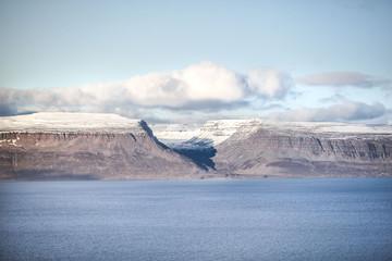 Fjord d'Islande